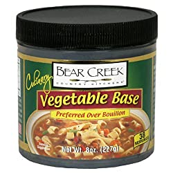 Bear Creek Country Kitchens Vegetable Soup Base, 8-Ounce Jars (Pack of 6)