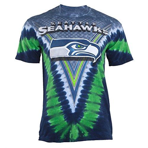 Seattle-Seahawks-Logo-V-Tie-Dye-T-shirt