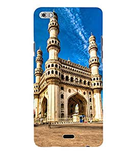 Fuson 3D Printed Gate Way of India Designer Back Case Cover for Micromax Canvas Sliver 5 Q450 - D819