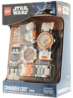 Clic Time CT80002 - Lego Kinderuhr Star Wars - Commander Cody