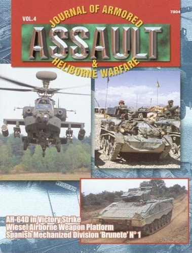 "Concord Publications Assault Journal #4 - AH-64D in Victory Strike, Wiesel Airborne Weapon Platform and Spanish Mechanized Division ""Brunete"" - 1"
