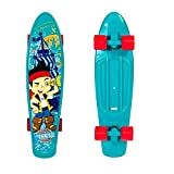 Jake and the Never Land Pirates 21 in. Kids Blue Plastic Skateboard