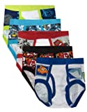 Disney Pixar Favorites 5 Pack Boys Briefs for boys (4)