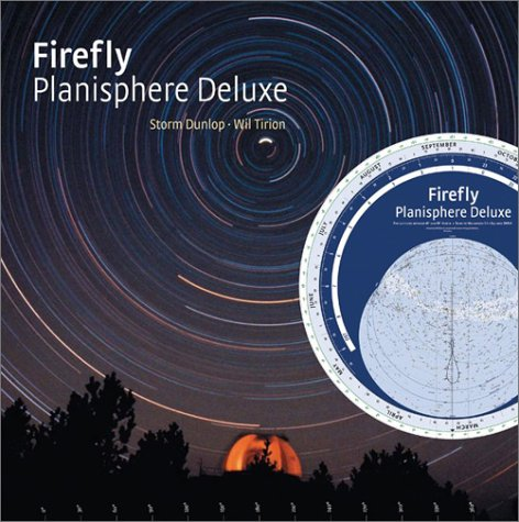 Firefly Planisphere Deluxe: For Latitudes Between 40 Deg And 60 Deg North -- Stars To Magnitude 5.5 -- Equinox 2000.0