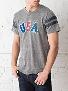 USA Eco-Football Tee