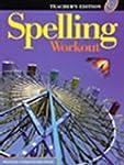 Spelling Workout Level G Teachers Edi...