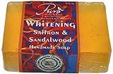 Puro Body & Soul Whitening Saffron & Sandalwood Handmade Soap - 100g