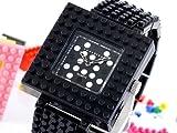 [ダイヤブロック] Diablock 腕時計 ナノ ブロック NANO BLOCK ユニセックス ブラック