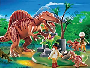 Playmobil adventure spinosaurus with dino - Dinosaur playmobile ...