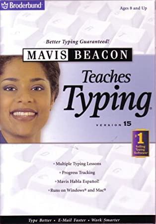 Mavis Beacon Teaches Typing Version 15 (Ages 8 and Up)