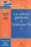 echange, troc Christophe Giolito, Laurent Bouvet - La culture générale à Sciences Po