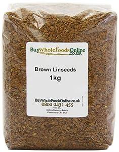 Buy Whole Foods Brown Linseeds 1 Kg