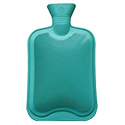 Medex Rubber Hot Water Bottle 2 Ltr (Green)