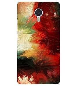 Chiraiyaa Designer Printed Premium Back Cover Case for YU Yunicorn / Yu unicorn (colorful patterns texture) (Multicolor)