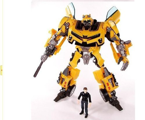 7-Weapons-Bumblebee-Figure-Transformers-with-Sam-Action-Figure-Garage-Kits
