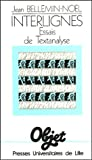 img - for Interlignes (Objet) (French Edition) book / textbook / text book