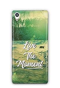 YuBingo Live the Moment Designer Mobile Case Back Cover for Sony Xperia Z5 Premium