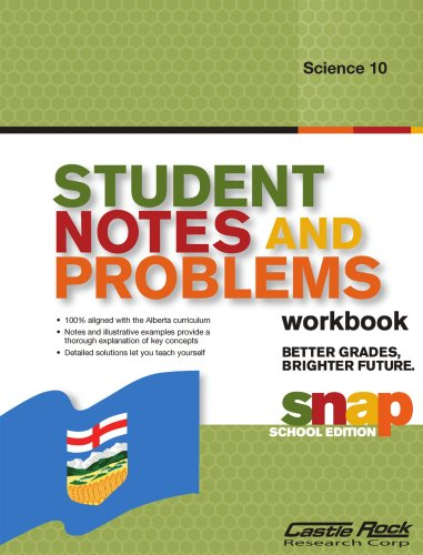 Student Notes And Problems Science 10