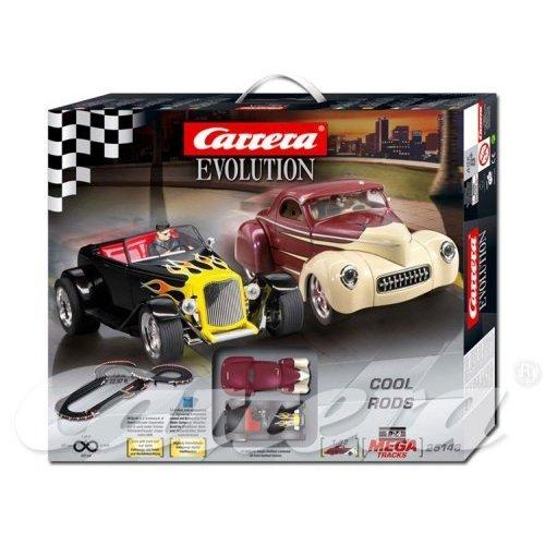 carrera evolution cool rod set for slot cars race. Black Bedroom Furniture Sets. Home Design Ideas