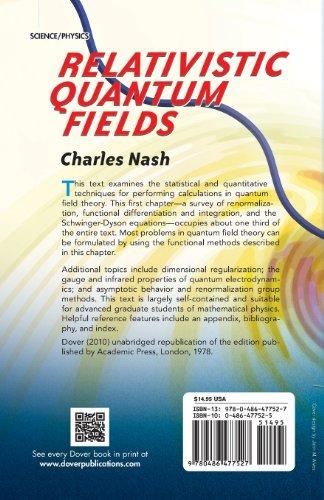 Relativistic Quantum Fields (Dover Books on Physics)