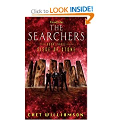 Searchers, Book Three: Siege of Stone (The Searchers , No 3) by Chet Williamson