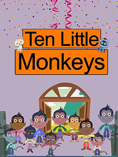 Ten Little Monkeys