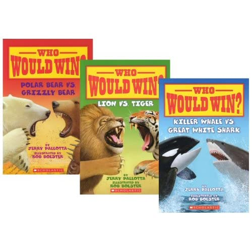 Who Would Win? (3 Book Set) (Who Would Win?, Lion Vs. Tiger; Killer