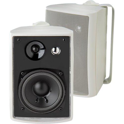 Dual Lu43Pw Indoor/Outdoor Speakers (White)