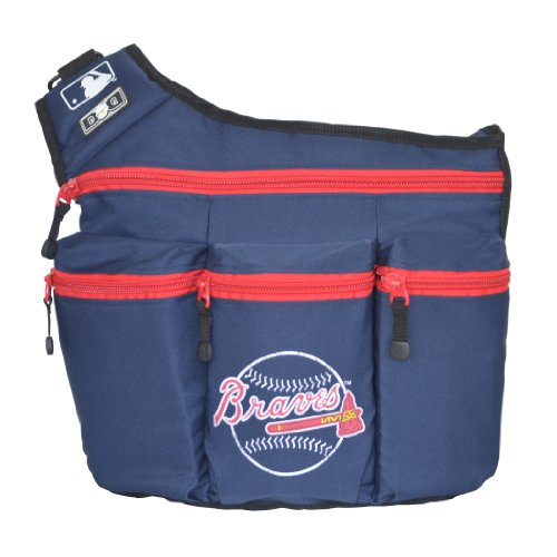 Diaper Dude Atlanta Braves Baseball Diaper Bag - 1