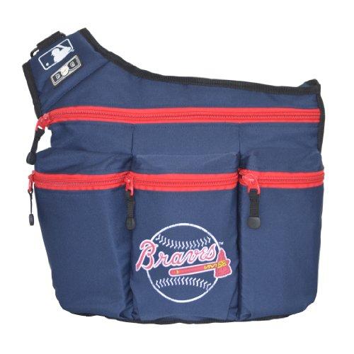 Diaper Dude Atlanta Braves Baseball Diaper Bag - 1