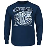 Seattle Seahawks 2013 Super Bowl Champs Victory Bling Championship Long Sleeve T-shirt by NFL
