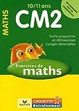 echange, troc Claude Maréchal - Mathématiques CM2 10/11 ans : Exercices de base