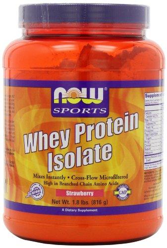 Now Foods isolat protéique de lactosérum,