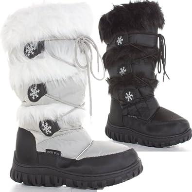 shoefashionista bottes de neige femme pluie la fourrure. Black Bedroom Furniture Sets. Home Design Ideas