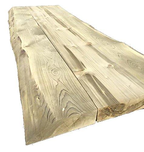 Farm-Baumstamm-Tischblatt-200-cm-8-cm-stark-Tischblatt-fr-Innen-oder-Auen-Baumstamm-Tisch-machen
