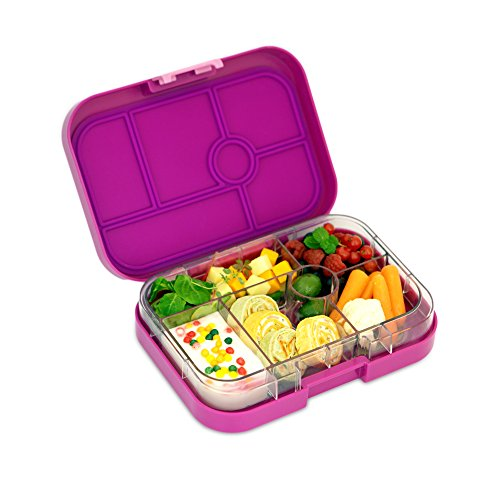 yumbox leakproof bento lunch box container bijoux purple for kids food bev. Black Bedroom Furniture Sets. Home Design Ideas
