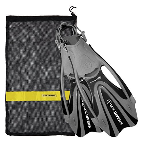 Proflex FX Fin With Mesh Carrying Bag, Black, Large