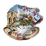 Country Bells 750 Piece Shaped Jigsaw Puzzle By Sunsout Inc.