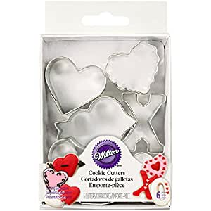 Wilton Valentine's 6 Piece Mini Cutter Set