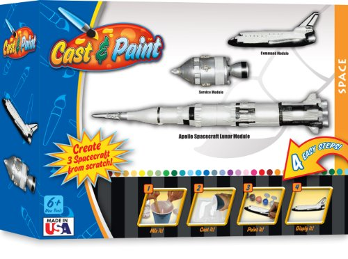 Cast and Paint Space Exploration Kit with BLOpens - 1