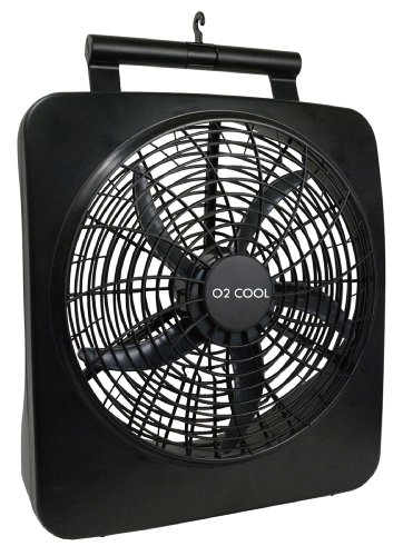 O2 Cool Battery Or Electric Portable Fan 10 Inches 1071