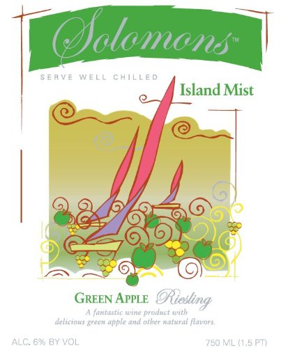 Nv Solomons Island Mist Green Apple Riesling 750 Ml