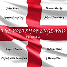 The Poetry of England, Volume 1 Audiobook by William Shakespeare, Christopher Marlowe, William Blake, William Wordsworth Narrated by Nigel Davenport, Nigel Planer, Jan Francis, Richard Mitchley, Ghizela Rowe