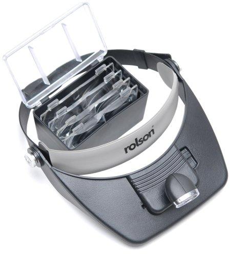 rolson-60390-led-head-loupe-magnifier-visor