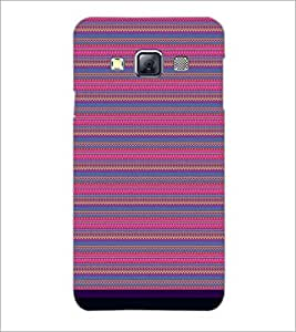 PrintDhaba Tribal pattern D-1831 Back Case Cover for SAMSUNG GALAXY A3 (Multi-Coloured)