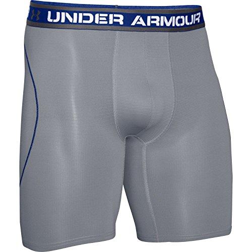 Under Armour Iso-Chill 9'' Boxerjock Boxer Brief, S, Graphite