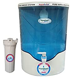 Aquafresh Electro Appliances Plastic 10 Liter Water Purifier, 40 Watt, Blue