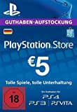 PlayStation Network Card - 5 EUR (für deutsche PSN-Konten) [PSN Code]