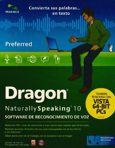 Dragon NaturallySpeaking Preferred 10.0 - Spanish (PC CD)