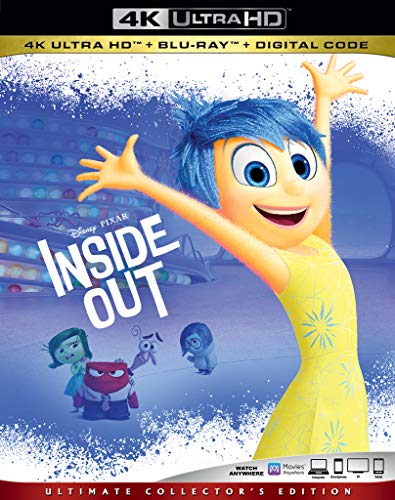 4K Blu-ray : Inside Out (3 Discos)